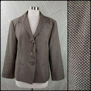 Lafayette 148 Suit Blazer Jacket wool Size 16